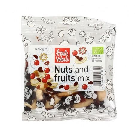 NUTS AND FRUIT 35 GR BIO BAULE VOLANTE