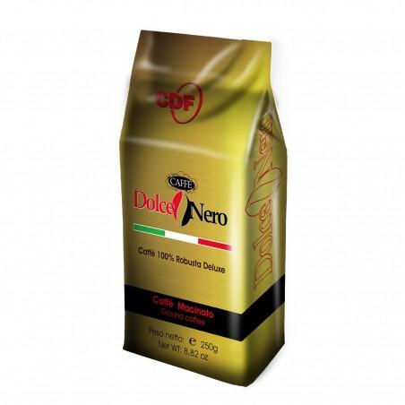 CAFFE' MACINATO GR.250 ROBUSTA 100% ORO